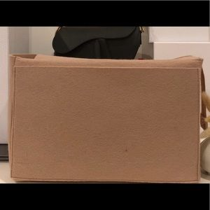Dior Tote Bag LARGE Organizer Beige